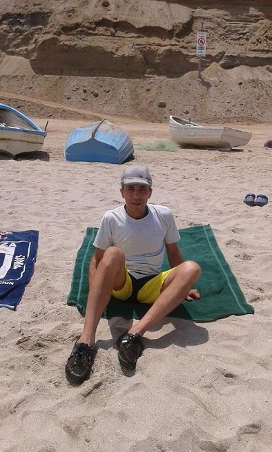 los chicos de la casa de reposo en la playa