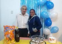Celebramos el cumpleaños de nuestro querido interno