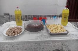 un compartir para celebrar los cumpleaños